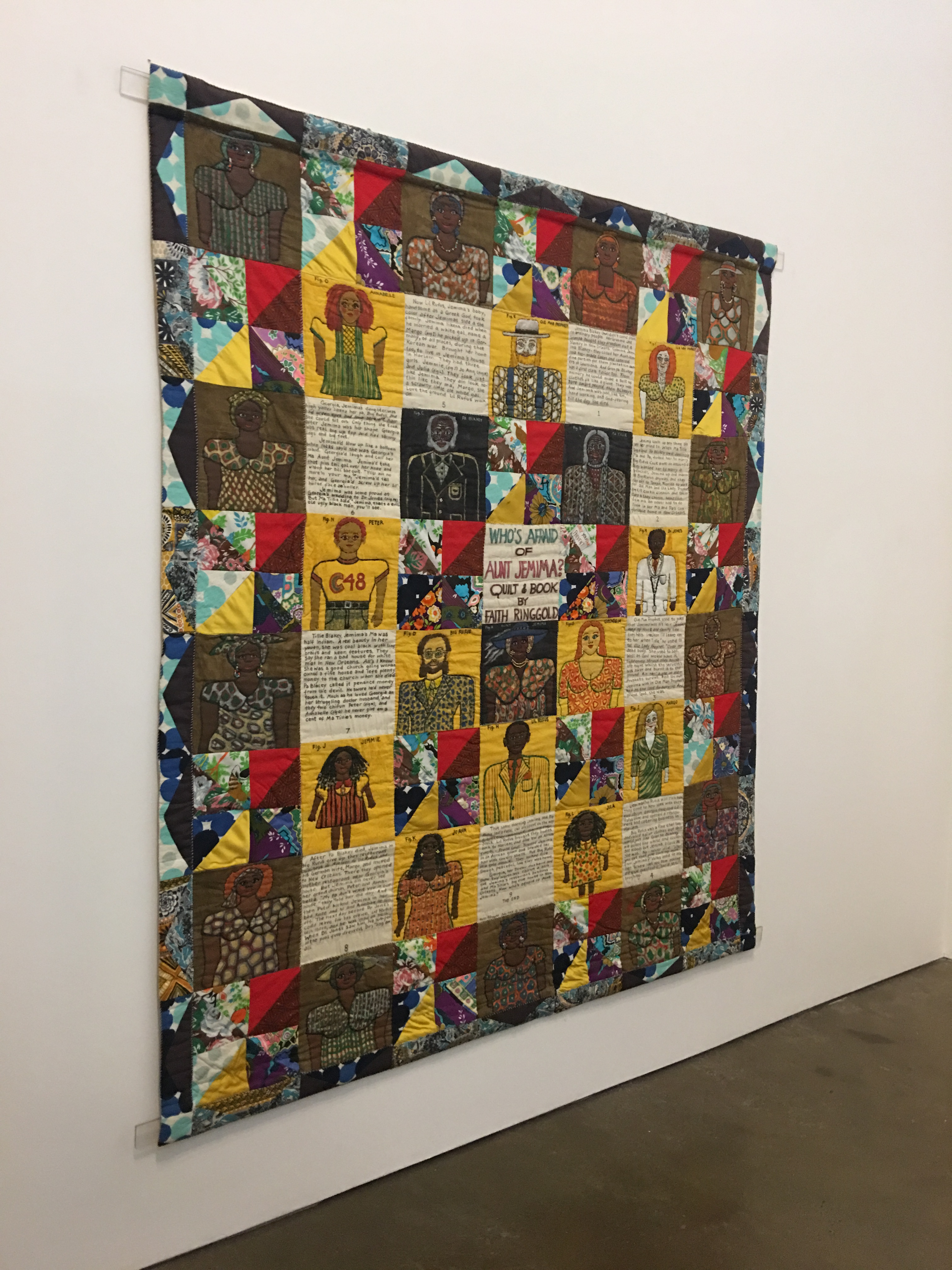 """""""Who's Afraid of Aunt Jemima?"""" by Faith Ringgold"""