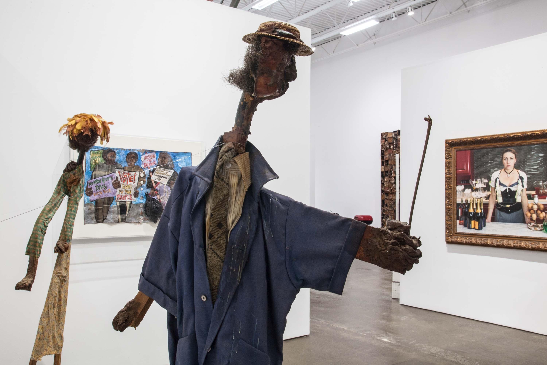 Aminah Robinson Installation, Photo by Bibiana Mattheis
