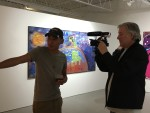 Steve Hernandez speaks with Jay Behrke about his work in the Student Exhibit