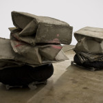 Phyllida Barlow, Untitled, Crushed Boxes, 2012