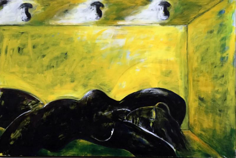 Dieter Hacker, Das Schwarze Zimmer/The Black Room,  1985