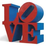 Robert Indiana, Love, 1966-1996
