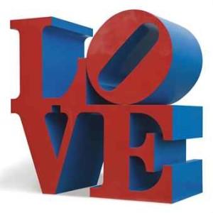 Robert Indiana, Love, 1966-1996
